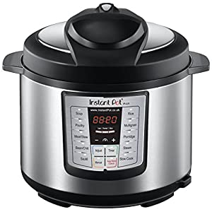 Ratings and reviews for Instant Pot IP-LUX60 6-in-1 Programmable Pressure Cooker, 6-Quart 1000-Watt