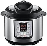 Instant Pot IP-LUX60 6-in-1 Programmable Pressure Cooker, 6-Quart 1000-Watt