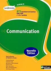 Activité 8 - Communication - BTS AG pme-pmi
