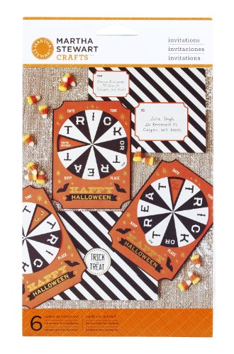 Martha Stewart Crafts Invitation, Carnival Spinner