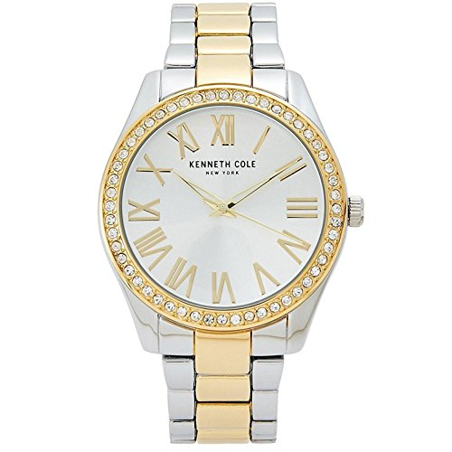 Kenneth Cole New York Women's Analog Steel Watch Two-Tone Bracelet KCC0184004