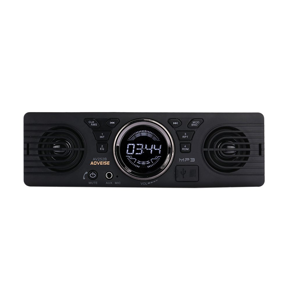 TOPmountain Car MP3 Player Smart AV252B Alufer Bluetooth