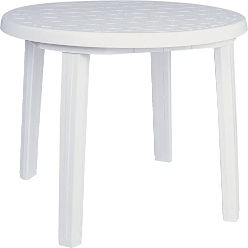 Compamia Ronda 36″ Round Resin Patio Dining Table