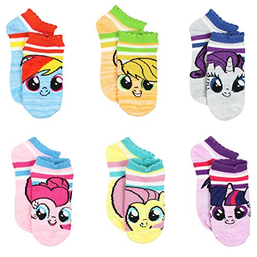 my-little-pony-girls-and-womens-6-pack-socks-9-11-womens