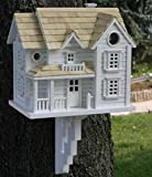 Fully Functional Intricate English Country Home Inspired Birdhouse