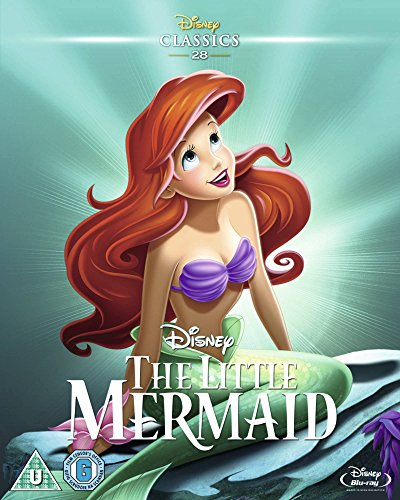 The Little Mermaid (Limited Edition Artwork Slipcover) [Blu-ray] [UK Import]