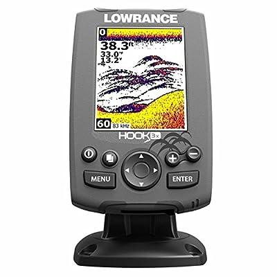 Lowrance 000-12635-001 Hook-3X Sonar, W/ 83/200 XDCR