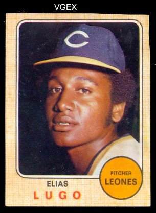 1974 Made in Venezuela Stickers (Baseball) Card# 161 Elias ...