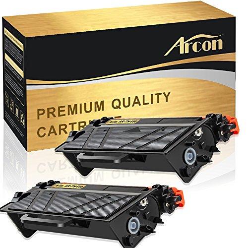 Arcon 2 Pack Compatible for TN850 TN-850 TN820 HLL6200DW MFCL5900DW Toner Cartridge for Brother HL L6200DW L5850DW L6200DWT L5100DN L5200DW L5850DW L6800DW Business Laser Printer Ink