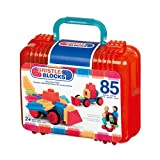 Battat Bristle Blocks Basic Set, 85-Piece Block Construction Set