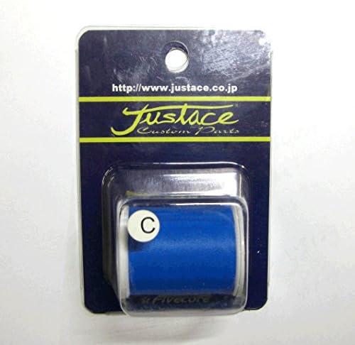 ジャストエース(Justace) ダルスレッド(C) 太糸 218 ブルー ポリエステルダルスレッド
