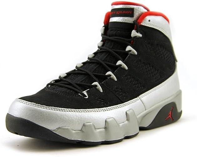 Detector Máxima tubería  Nike Mens Air Jordan 9 Retro Johnny Kilroy Limited Edition Basketball Shoes  Black/Gym Red/Metall: Amazon.co.uk: Shoes & Bags