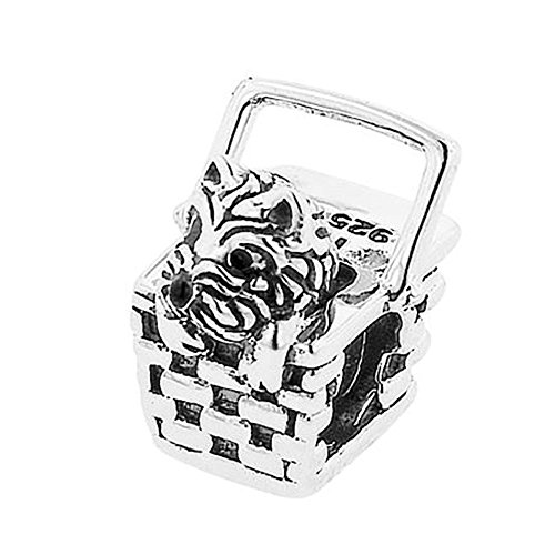 Intricate Detail Sterling Silver Charm - 3