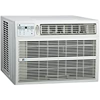 Perfect Aire 3PACH18000 18,500/18,200 BTU Window Air Conditioner with Electric Heater, 700-1,000 Sq. Ft. Coverage