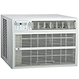 energy aire filters - Perfect Aire 3PACH18000 18,500/18,200 BTU Window Air Conditioner with Electric Heater, 700-1,000 Sq. Ft. Coverage