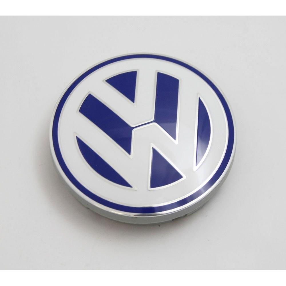 Volkswagen 1 C0601171 09Z Tapa (1 pieza) para llanta de aluminio original color azul blanco: Amazon.es: Coche y moto