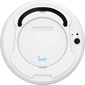 3-in-1 Sweeping Robot, Robot Vacuum Cleaner, Super-Thin, 1800Pa Suction, Boundary Strips Included, Quiet, Self-Charging Robotic Vacuum Cleaner, Wireless Charging Type (White)
