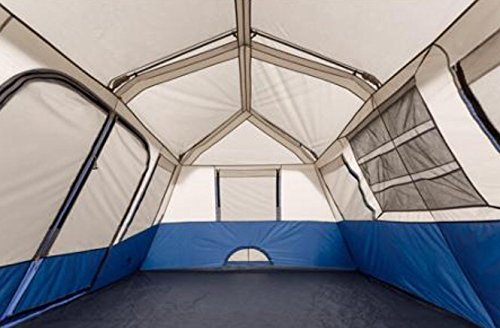 Ozark Trail 10-Person 2 Room Instant Cabin Tent & Ozark Trail 10-Person 2 Room Instant Cabin Tent - Camping Companion