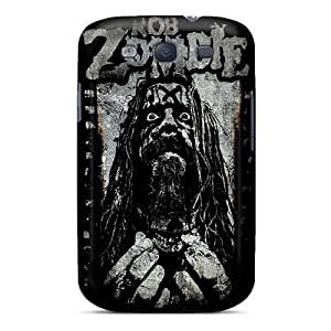 Samsung Galaxy S3 YeM5717kTJv Custom Lifelike Rob Zombie Image Best Hard Phone Covers -AaronBlanchette