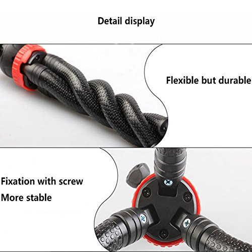 12'' Flexible Camera Tripod Stand Mount for Logitech Webcam Brio 4K, C925e,C922x,C922,C930e,C930,C920,C615 by AceTaken (Image #3)