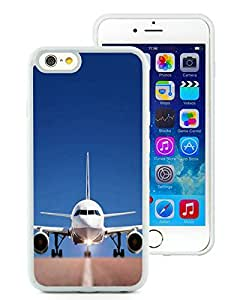 Popular And Unique Custom Designed Case For iPhone 6 4.7 Inch TPU With Big Airplane White Phone Case