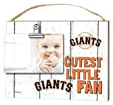"KH Sports Fan 10""x8"" San Francisco Giants Clip It Weathered Baby Logo Photo Frame"