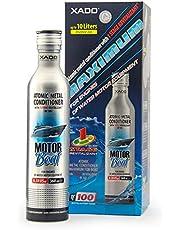 XADO motorboot-olie-additief bescherming voor motoren 4-takt dieselmotor - toevoeging voor reparatie en tegen slijtage, atomaire metaalconditioner met Revitalizant® 1 Stage (tot 10L olievolume)