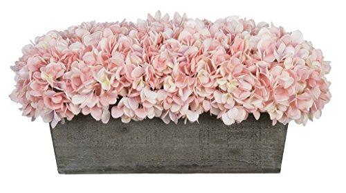 Artificial-Hydrangeas-in-Grey-Washed-Wood-Ledge