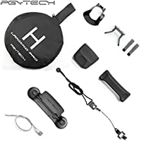 PGYTECH Accessories Combo for Mavic pro/Platinum (landing pad/Control Stick Protector/Lens Hood/propeller holder/landinggear)