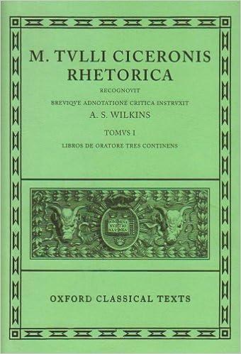 Como Descargar Libros Cicero Rhetorica. Vol. I: (de Oratore): (de Oratore) Vol 1 Paginas Epub