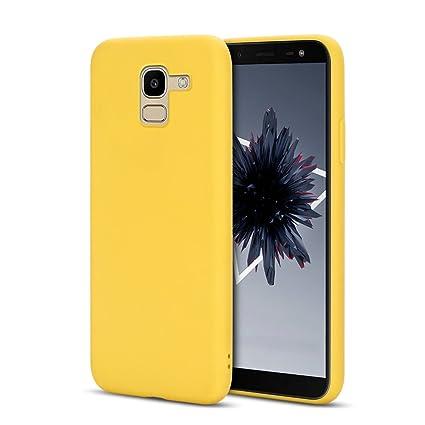 Anfire Funda para Samsung Galaxy J6 2018, Carcasa Silicona ...