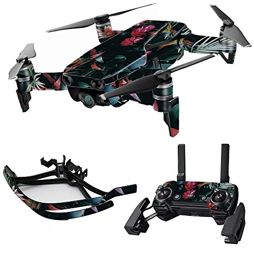MightySkins Skin for DJI Max Coverage - Island Vibes | Protective, Durable, and Unique Vinyl Decal wrap Cover | Easy to Apply, Remove, and Change Styles | Made in The USA