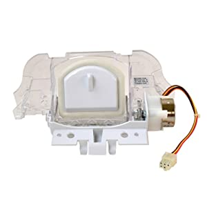 Whirlpool W10291704 Refrigerator Dispenser Ice Chute Door and Motor Assembly Genuine Original Equipment Manufacturer (OEM) Part