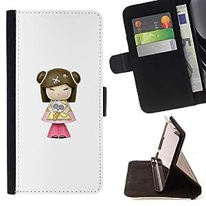 "For Sony Xperia Z5 Compact Z5 Mini (Not for Normal Z5),S-type Modelo de Caracteres historieta del Anime"" - Dibujo PU billetera de cuero Funda Case Caso de la piel de la bolsa protectora"