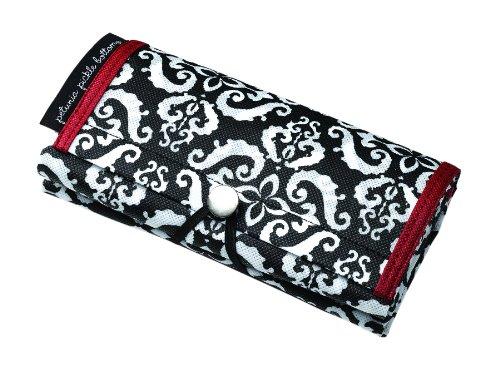 Petunia Pickle Bottom Shopper Tote - Bolsa de compras, color negro Negro (Frolicking In Fez)