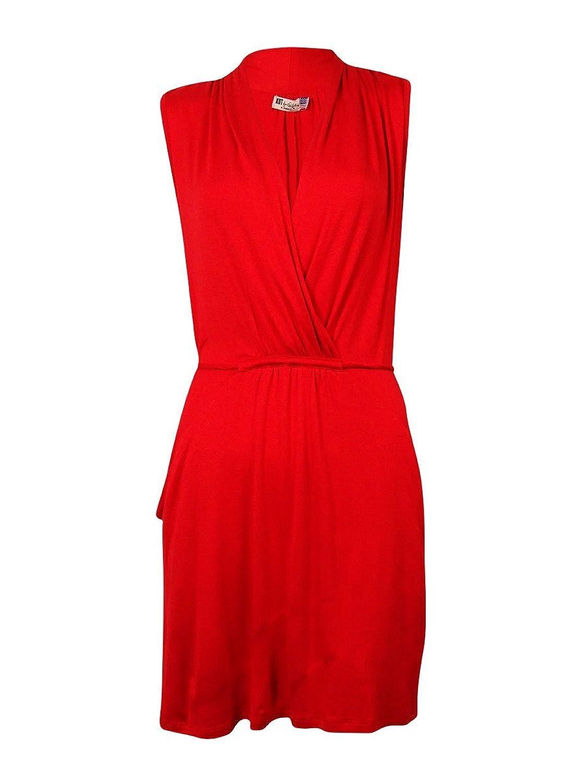 Kut from the Kloth Women's 'Emily' Surplice Knit Jersey Dress