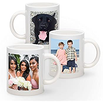55af9bf8cfe Amazon.com: Design Your Personalized Photo Coffee Mug - Upload your ...