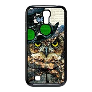 Different Style Custom Personalized Dictionary Hipster Owl Vintage Retro SamSung Galaxy S4 Case Dictionary Owl Cover Galaxy S4 I9500