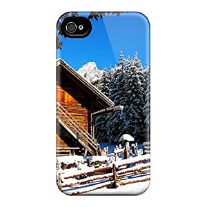 Hot New Choosing A Rest Cottage Case Cover For Iphone 4/4s With Perfect Design by Maris's Diary