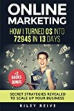 Online Marketing: How I turned 0$ into 7294$ in 13 days (+2 BOOKS BONUS: The 9 deadly mistakes - The ultimate mind-set) | Scale up your business |