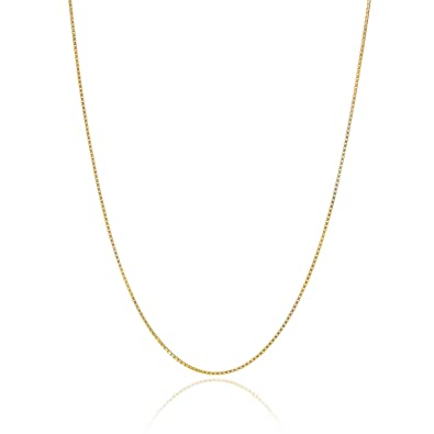 jewellers jewellery filled silver yellow a shiels singapore necklace gauge chain gold chains ball necklaces