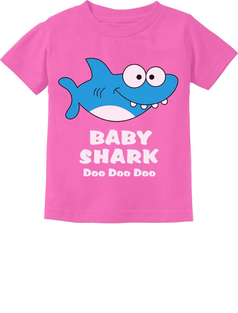 Baby Shark Song Doo doo doo Family Dance for Boy Girl Infant Kids T-Shirt 24M Pink by Tstars