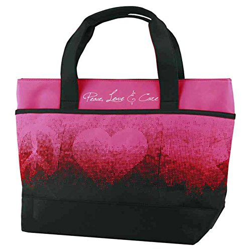 Think Medical Womens Peace Love Care Tote Bery by THINK