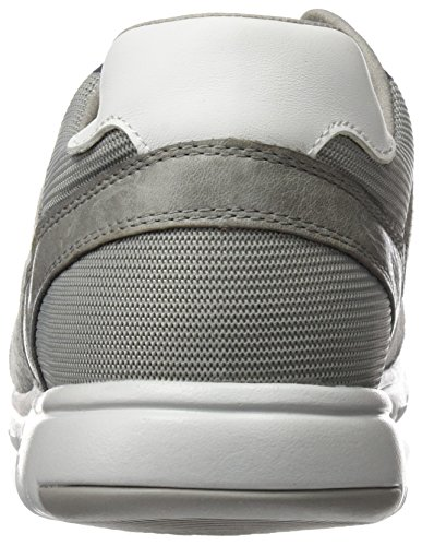 Geox U Xunday 2fit C, Zapatillas para Hombre Gris (ICEC1003)