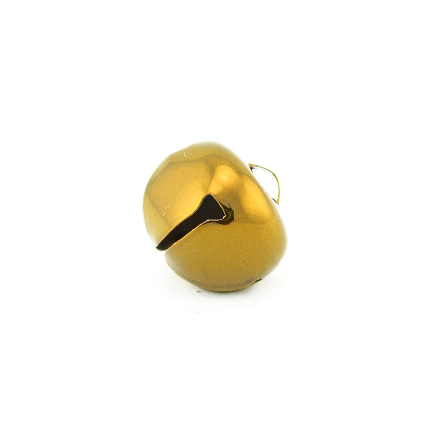 1.25 inch 30mm Large Gold Jingle Bells Bulk 100 Pieces by Art Cove (Image #2)