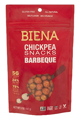 Biena Chickpea Snacks Barbeque Ounce