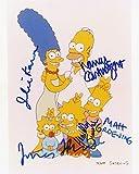The Simpsons Autographed Cast Autographed REPRINT 8x10 inch Photo RP