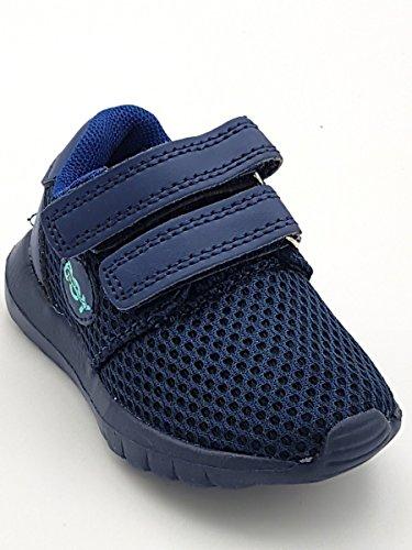Shoes scarpe primi passi bimbo bambino primaverili estive sportive da  ginnastica snekers casual comode strappo colore blu elettrico numero 20   Amazon.it  ... 3ebb2cee80e