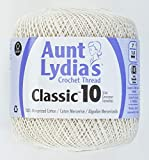 Coats Crochet Aunt Lydia's Crochet, Cotton Classic