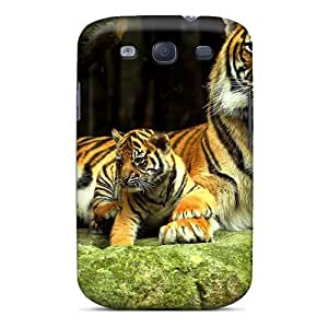 Galaxy S3 Case Cover - Slim Fit Tpu Protector Shock Absorbent Case (mother Cup)